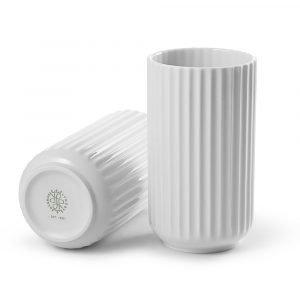 Lyngby Porcelæn Lyngby Maljakko Valkoinen 15 Cm