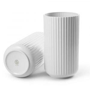 Lyngby Porcelæn Lyngby Maljakko Valkoinen 25 Cm