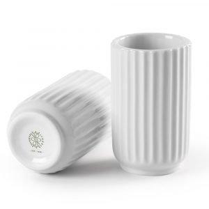 Lyngby Porcelæn Lyngby Maljakko Valkoinen 8 Cm