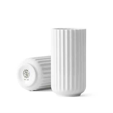 Lyngby Porcelæn Maljakko Valkoinen 10 cm