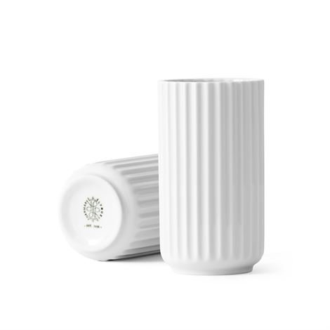 Lyngby Porcelæn Maljakko Valkoinen 12 cm