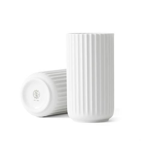 Lyngby Porcelæn Maljakko Valkoinen 15 cm