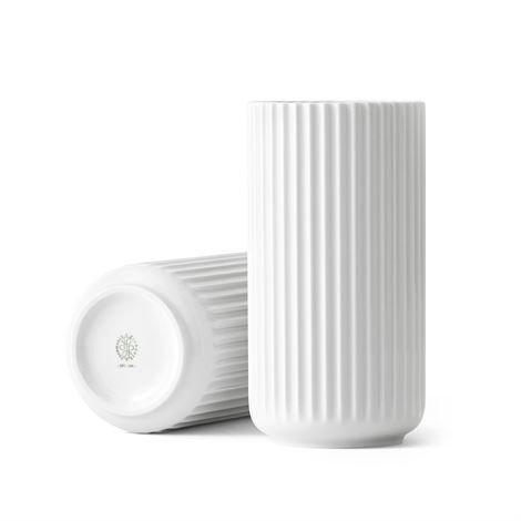 Lyngby Porcelæn Maljakko Valkoinen 20 cm