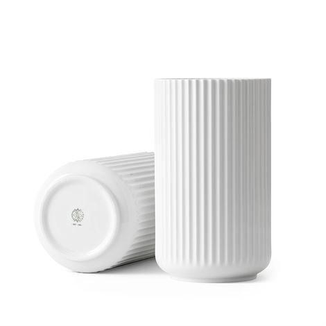 Lyngby Porcelæn Maljakko Valkoinen 25 cm