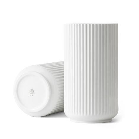 Lyngby Porcelæn Maljakko Valkoinen 31 cm