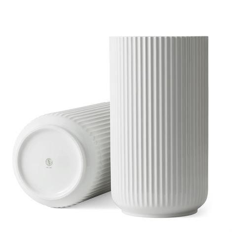 Lyngby Porcelæn Maljakko Valkoinen 38 cm