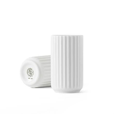 Lyngby Porcelæn Maljakko Valkoinen 8 cm