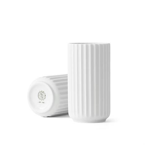 Lyngby Porcelæn Maljakko Valkoinen Matta 12 cm
