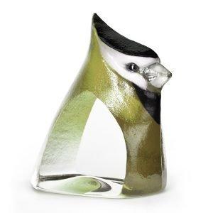 Målerås Glasbruk Birdie Vihreä