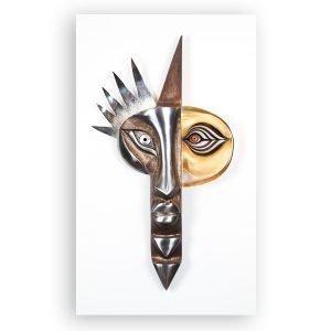 Målerås Glasbruk Iron & Crystal Inka Ltd Ed 54x89 Cm