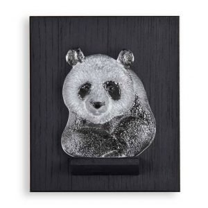 Målerås Glasbruk Miniatyr Panda