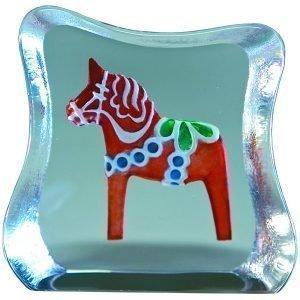 Målerås Glasbruk Miniatyyri Taalainmaan Hevonen
