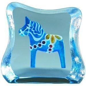 Målerås Glasbruk Miniatyyri Taalainmaan Hevonen Perinteinen