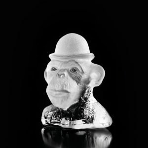 Målerås Glasbruk Monkey Business Seriously Kirkas