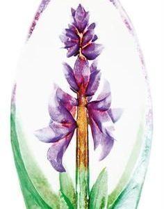 Målerås Glasbruk Orkidea Lasiveistos Violetti