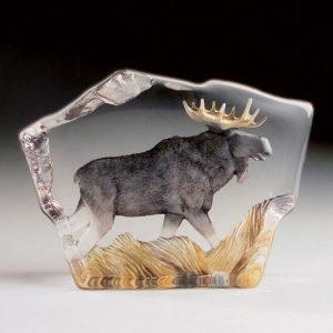 Målerås Glasbruk Safari Hirvi