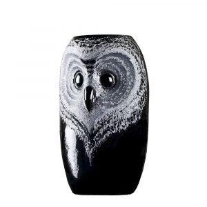 Målerås Glasbruk Safari Pöllö Maljakko Pieni