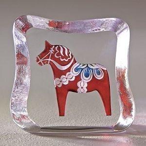 Målerås Glasbruk Taalainmaan Hevonen Perinteinen