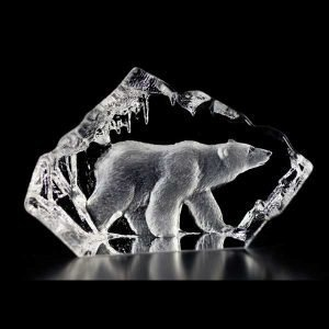 Målerås Glasbruk Wildlife Jääkarhu