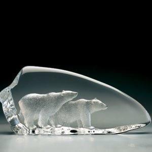 Målerås Glasbruk Wildlife Jääkarhut