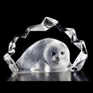 Målerås Glasbruk Wildlife Kuutti