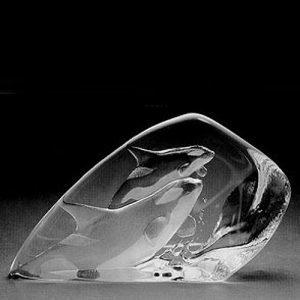 Målerås Glasbruk Wildlife Miekkavalas