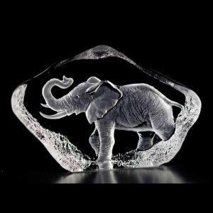 Målerås Glasbruk Wildlife Norsu