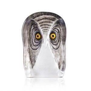 Målerås Glasbruk Wildlife Pöllö Large Maalattu