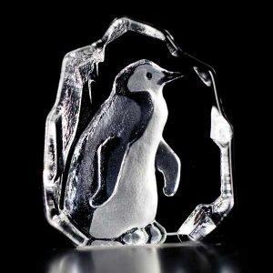 Målerås Glasbruk Wildlife Pingviini