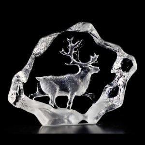 Målerås Glasbruk Wildlife Poro