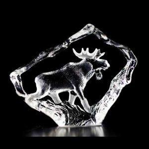 Målerås Glasbruk Wildlife Uroshirvi