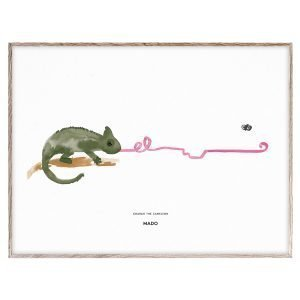 Mado Charlie The Chameleon Juliste 40x30 Cm