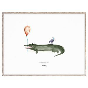 Mado Coco The Crocodile Juliste 40x30 Cm