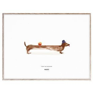 Mado Doug The Dachshund Juliste 40x30 Cm