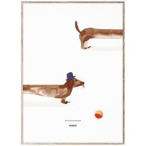 Mado Doug The Dachshund Juliste 50x70 Cm