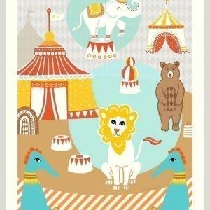 Majvillan Circus Juliste