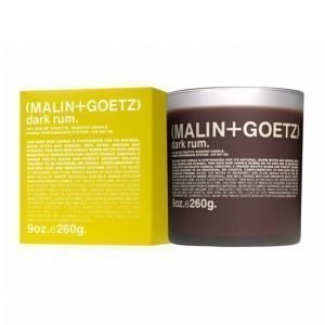 Malin + Goetz Dark Rum Candle 260 G Tuoksukynttilä