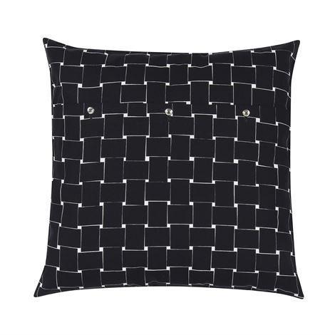 Marimekko Basket Tyynynpäällinen 50x50 cm Musta-Valkoinen