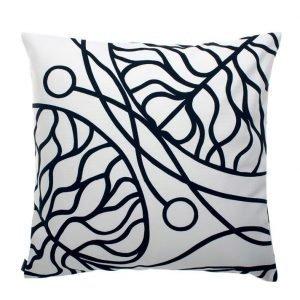 Marimekko Bottna Tyynynpäällinen Valkoinen / Musta 50x50 Cm