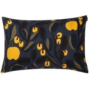 Marimekko Jaspi Tyynynpäällinen Tummansininen Keltainen 40x60 Cm