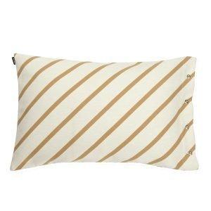 Marimekko Mint Tyynynpäällinen Valkoinen / Kulta 40x60 Cm