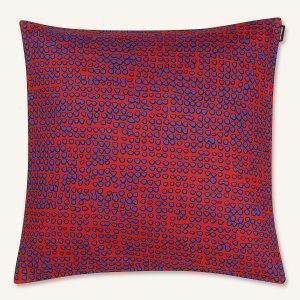Marimekko Orkanen Tyynynpäällinen Röd / Sininen 40x40 Cm