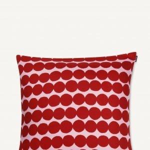 Marimekko Räsymatto Tyynynpäällinen Vaaleanpunainen Punainen 50x50 Cm