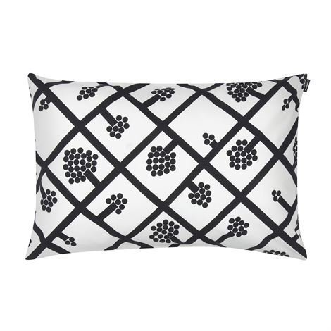 Marimekko Spaljé Tyynynpäällinen 40x60 cm Musta-Valkoinen