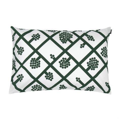 Marimekko Spaljé Tyynynpäällinen 40x60 cm Vihreä-Valkoinen