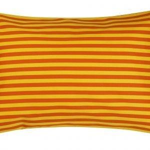 Marimekko Tasaraita Tyynynpäällinen Oranssi Keltainen