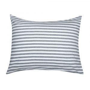 Marimekko Tasaraita Tyynynpäällinen Valkoinen / Harmaa 50x60 Cm