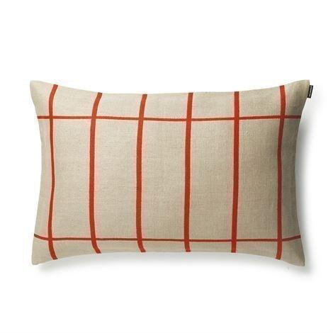 Marimekko Tiiliskivi Tyynynpäällinen 40x60 cm Oranssi-Beige