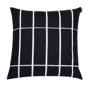 Marimekko Tiiliskivi Tyynynpäällinen Musta / Valkoinen 50x50 Cm
