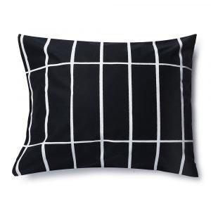 Marimekko Tiiliskivi Tyynynpäällinen Musta / Valkoinen 50x60 Cm